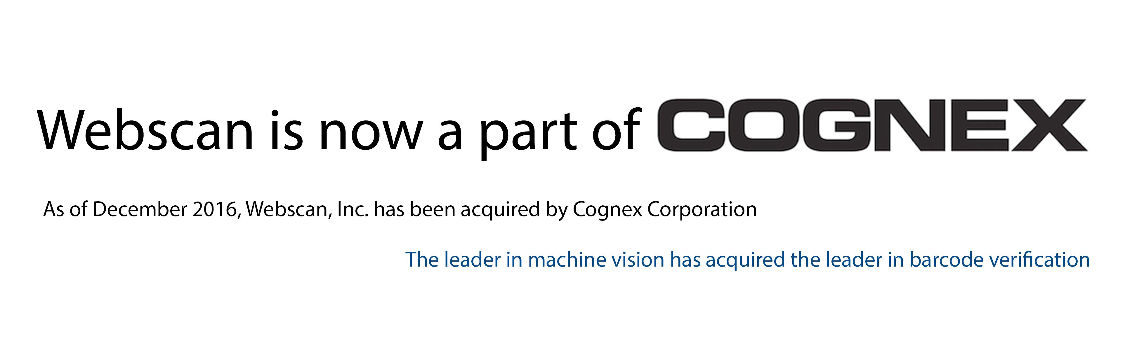 Cognex-slider
